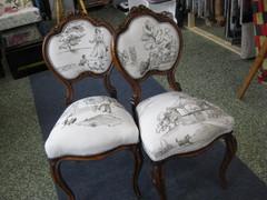 pienet rokokoo tuolit