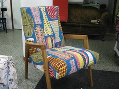 Retro Kannu-tuoli