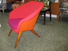 60-luvun pieni väri-trio tuoli