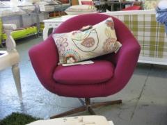 60-luvun pieni nojatuoli hinta 450€,liikkeestä noudettuna