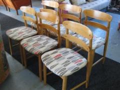 50-luvun tuolit 6kpl hinta 890€