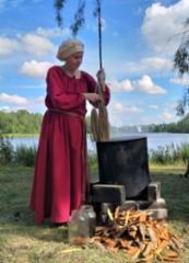 Värjäysnäytös, Keskiaikafestivaalit Hämeelinna 2019