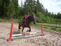 Yleisleirilä hyppyvuorossa Arska ja Fanni