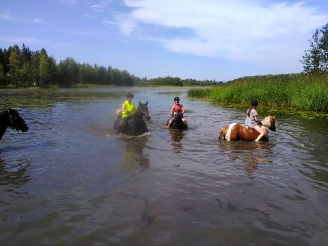 Uimarit Hottis, Kastanja, Verneri ja Diana
