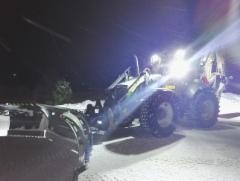 Lännen 8600 E + Snowek U-aura