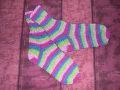 Lasten sukat, hinnat alkaen 9€. Aikuisten sukat hinnat alkaen 13€