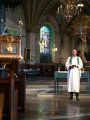 Messu Enköpingin kirkossa