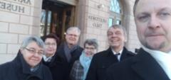 Srky kävi onnittelemassa 100-vuotiasta yliopistoa