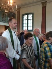 Vieraana piispa Juha Pihkala