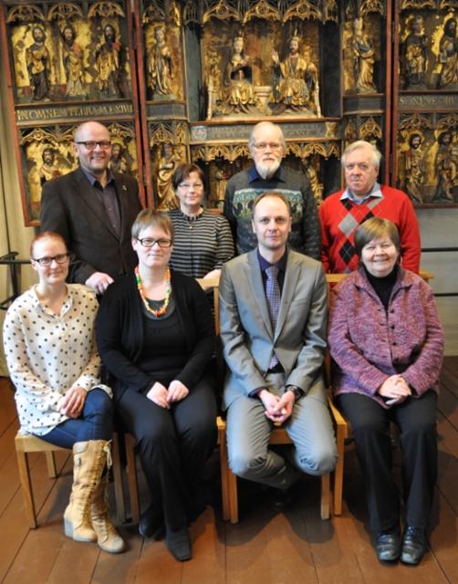 Historiahankkeen toimikunta ja tutkijoita