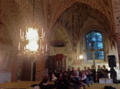 Konserttikiertue / tässä Kalannin kirkossa