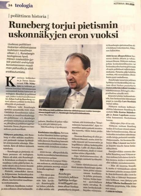 Väitöskirjastani / Kotimaa