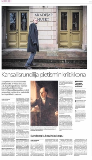 Väitöskirjastani / Turun Sanomat