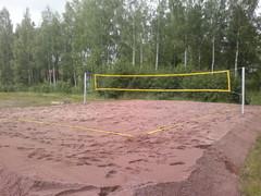 Valmis Beach Volley -kenttä