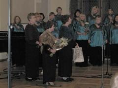 2009 tallinnan akateeminen naiskuoro 50v, vnl onnittelee