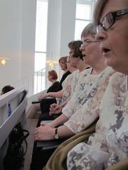kirkkokonsertissa