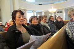 kirkossa harjoiteltiin