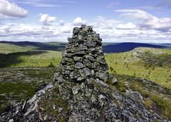 Ruotsin vallan aikainen kivipyykki Inarin pohj. Paalupäässä,VVV