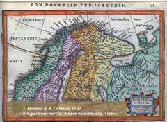 Hondius, J. & Janssonius, J.1632 Norvegia et Svecia