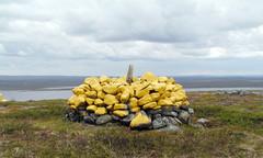 Golmmesoaivi on vanha rajapaikka, johon pystytettiin 1826 RM 349. Kuva: LR/Jyrki Ojala.