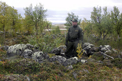 Purnu sijaitsee rajalla Utsjoen Urroaivissa, VVV.