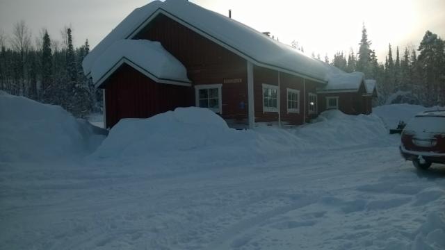 Kämppä talvella 2016