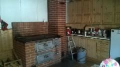 Vanha keittiön liesi.