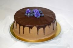 Mustikka-suklaakakku