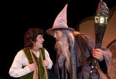 Bilbo ja Gandalf (Kuva Ari Nakari)
