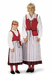 naisten puvun liivi Laitila