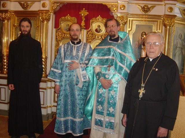 Vironkielinen liturgia 2003