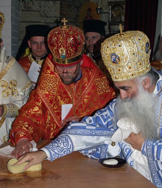 Pyhien Simeonin ja Hannan katedraalin vihkiminen