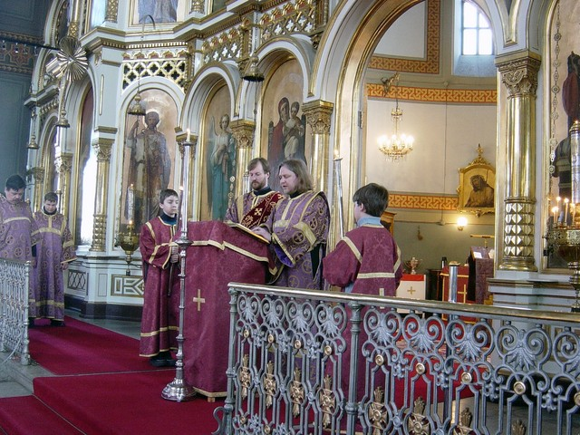 Liturgia 2005 Uspenskissa