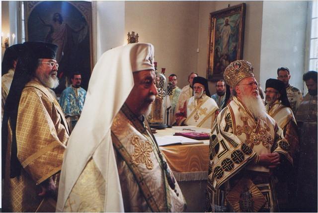 Patriarkka Bartolomeos Virossa 2000