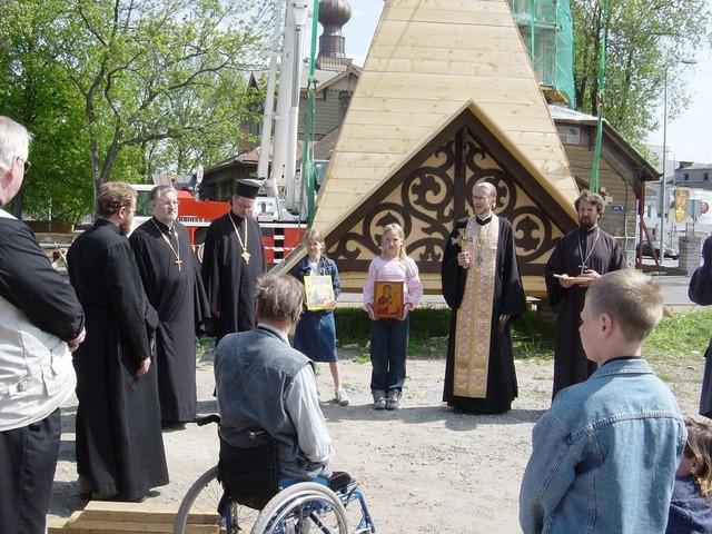 Pyhien Simeonin ja Hannan kirkon kunnostus