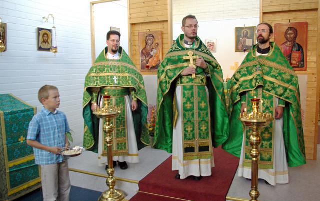 Mellunmäen liturgia 2008