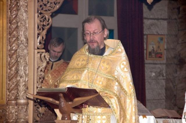 Pääsiäispalvelus Simeonin ja Hannan katederaalissa 2008