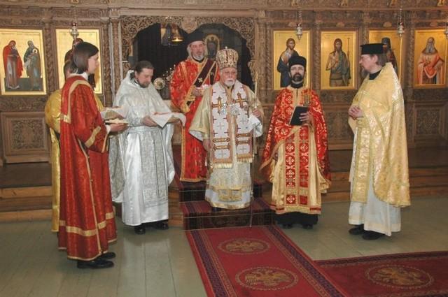 Pääsiäispalvelus Simeonin ja Hannan kirkossa 2008