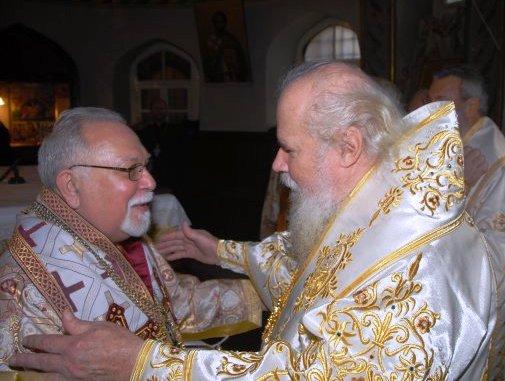 Metropoliitta Stefanos ja patriarkka Aleksi