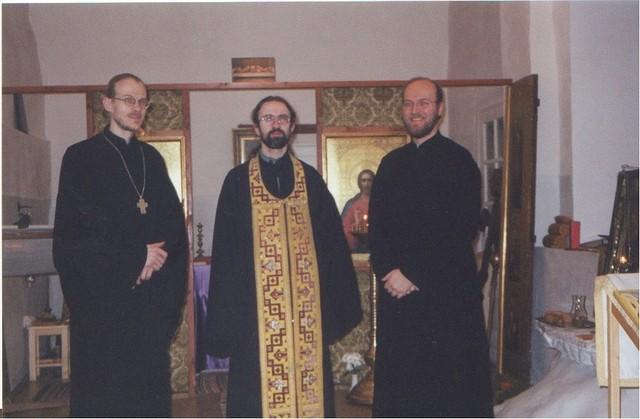 Pyhän Platonin väliaikainen kappeli 2002