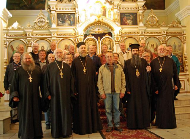 Joensuun ortodoksisen mieskuoron vieraili