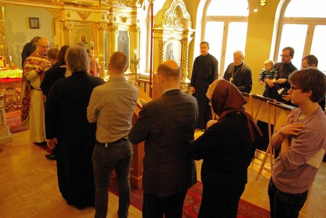 Vironkielinen liturgia 2012