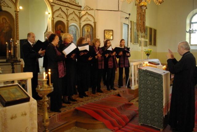 Psalloo -kuoro Saarenmaalla 2012