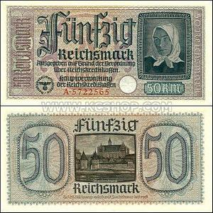 50 Funfzig Reichsmark