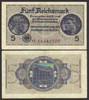 Funf Reichsmark 5