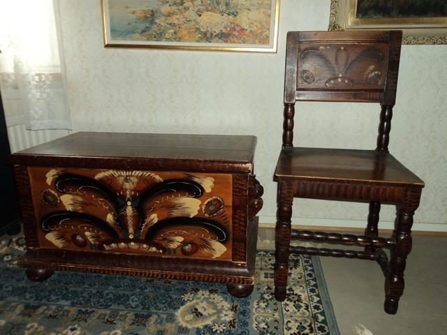 Arkku ja tuoli