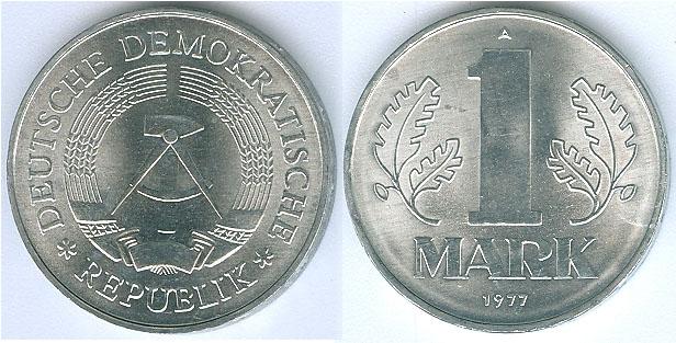 DDR 1 mark 1977
