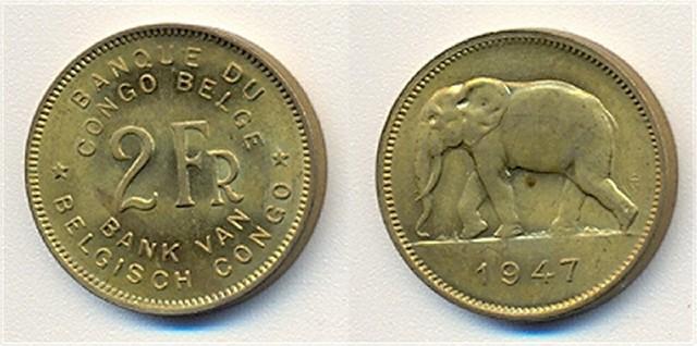 2_francs_belgisch__congo_1947