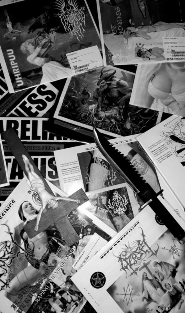 WEREWOLF RECORDS VINYL TEST PRESSINGS   WEREWOLF RECORDS