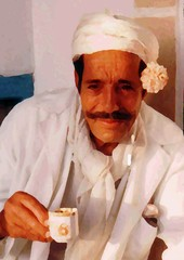 A cup ofcoffee in Sidi Bou Said